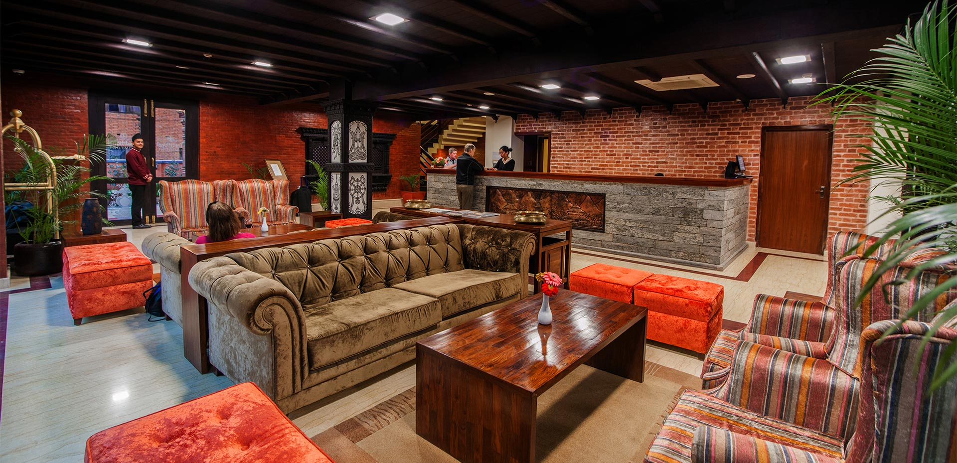 impressive by design cultural by inspiration - Traditional Hotel Interior