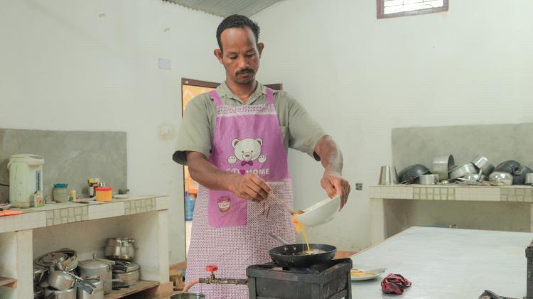 Punak Narayan Chaudhary at Traditional Comfort